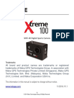 Curve Xtreme 100 4K UHD User Manual