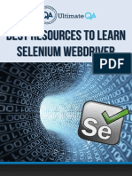 Best Resources to Learn Selenium WebDriver 1