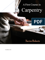 A First Course in Carpentry-Xavier Roberts