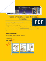 Terra Group, Lavinium, Booking Form, Sector 75, Faridabad