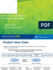 Value Chain Outreach Pharmaceutical Sector John Harris