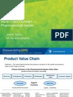 Value Chain Outreach Pharmaceutical Sector John Harris