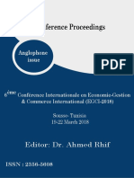 Conference Proceedings - EGCI'2018 (Anglophone issue)
