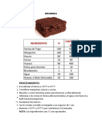 Brownies Receta