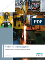 Welders Cold Rolling Plants En