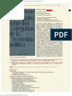 1972 -Gustavo Bueno - Ensayo Sobre Las Categorías de La Economía Política, La Gaya Cie