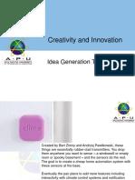 CRI Lecture 10-Idea Generation Techniques