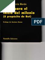 2002 - Eduardo García Morán. Ideas Para El Inicio Del Milenio. Prólogo de Gustavo Bueno