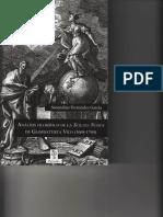 2013 - Análisis Filosófico de La Scienzia Nuova de Giambattista Vico (1688-1744). Secundino Fernández García. Prólogo de Gustavo Bueno