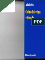 1994 - Calida de Vida y Oviedo. Julio Bobes. Prólogo de Gustavo Bueno
