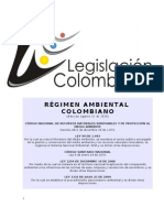 Régimen Ambiental Colombiano