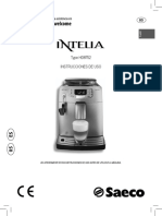 Cafetera Intelia Type HD8752