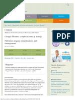 Cirugía Filtrante Complicaciones y Manejo - Medwave