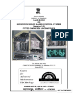 Handbook on Microprocessor Based Control System (Ver-3.0) Fitted on Disel Locomotives