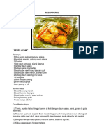 Resep Pepes