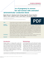 ESC AV Block in Pregnancy