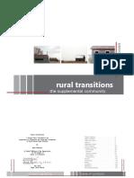 Rural Transitions Blain Mikkonen