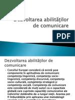 3. Dezvoltarea Abilităților de Comunicare