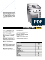 Cocina Electrica ZANUSSI