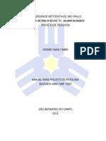 2012 - Modelo Projeto de Pesquisa - USP