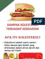 Dampak Kolesterol Terhadap Kesehatan