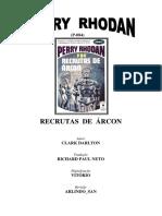 Perry Rhodan 084 - Recrutas de Árcon - Clark Darlton