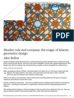 Muslim Rule and Compass_ the Magic of Islamic Geometric Design _ Science _ the Guardian