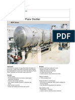 PD2055E1 MEP Multi Effect Plate Distiller