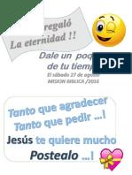 afiche MISION DE VERANO