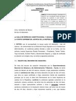 Criterio de Jerarquía Es Determinante Para Resolver Conflicto Entre Dos Normas Casación 4017 2014 Lima