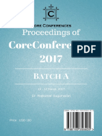CoreConferences 2017 Batch A