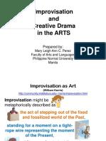 8Improvisation and Creative Drama