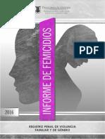Informe 2016 de la procuración bonaerense