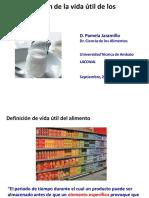 Anexo VI. Determinacion Vida Util Alimentos