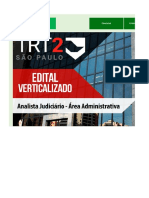 Edital Verticalizado - TRT 2 - AJAA