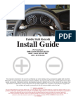 BMW Paddle Shift Install Guide