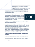 Gimnasia Historia y Ajedrez