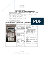 Práctica 1 PLC Instituto Tecnologico de Durango
