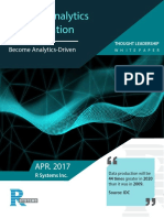 0 R-Systems Analytics-Sophistication Thought Leadership Whitepaper