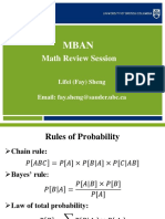 Math review for Data Scientists