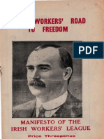 Irish Workers Road to Freedom