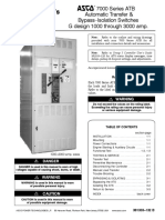 ASCO Series 7000 Manual