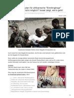 Pi-news.net-Vierstufiger Fahrplan Für Afrikanische Eindringlinge Abschiebungen Nicht Möglich Israel Zeigt Wies Ge