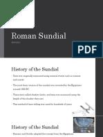 sundial report