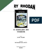 P-160 - O Espelho Do Terror - Kurt Mahr