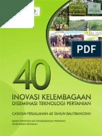 40 Inovasi Kelembagaan Diseminasi
