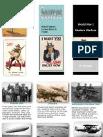 modern warfare brochure
