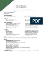 BMorton Resume 2018