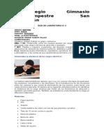 LABORATORIO DE FÍSICA  DE II PERIODO 7°