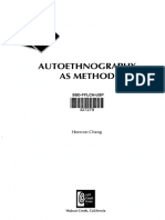 CHANG Heewon - Autoethnography as Method